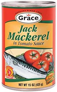 Grace Mackerel in Tomato Sauce, 15oz