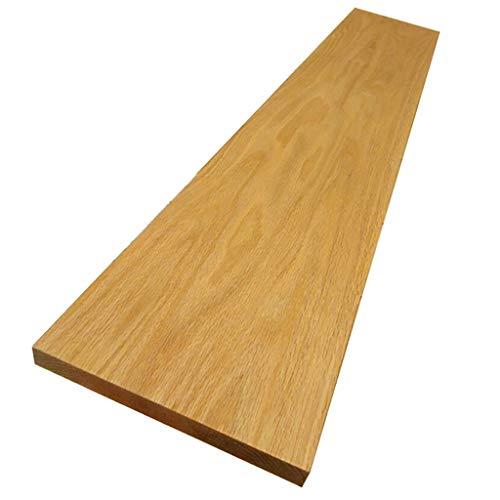 WWZWJ Zwevende plank Zwevende plank, Eiken Vloer Zonder Standaard, Slaapkamer/Woonkamer/Keuken/Badkamer Wandmontage Bergruimte, Multi-size