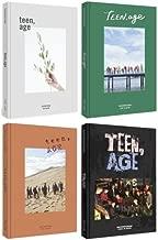 SEVENTEEN 2nd Album TEEN, AGE 4 Ver SET Package (CD+120p PhotoBook+Lyrics Paper+PhotoCard+Portrait Desktop Stand+Folding Poster (ON PACK)+Name Sticker EACH) Sealed