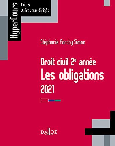 Droit des obligations 2021 - 13e ed. (HyperCours)