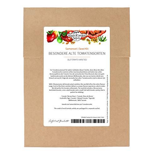 Besondere alte Tomatensorten - Samenset mit 3 wohlschmeckenden traditionellen Züchtungen