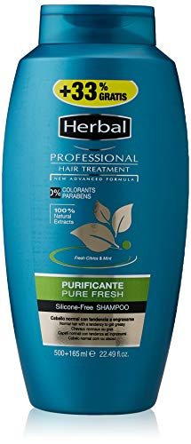 HERBAL Professional treatment champú purificante bote 500 ml