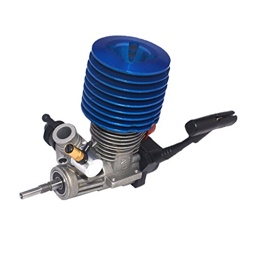 freneci Motor Nitro de Coche RC SH 21 Motor Nitro 28000 RPM 3.48CC Arrancador de Tracción para 1/8 HSP