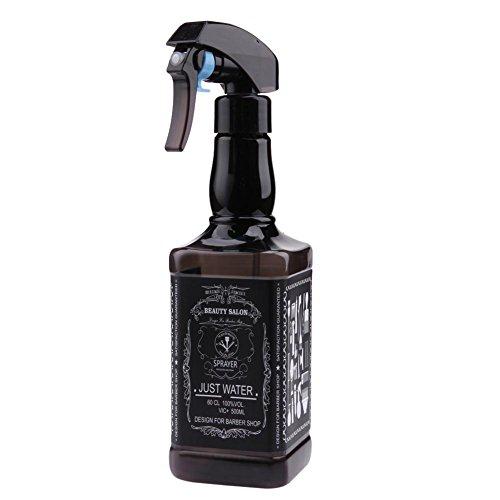 Scopri offerta per Demiawaking 500ml Bottigliette Spray Vuote per Capelli Spruzzino Nebulizzatore Parrucchiere Bottiglie Riutilizzabile per Parrucchiere Barbiere Strumenti Spray per lo Styling (Nero)