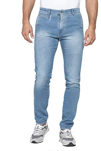 Carrera Jeans - Jeans per Uomo, Tessuto Relax Extra Comfort (IT 56)