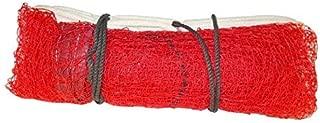 Gyronax Badminton Net Nylon Red, 4 Side Tape 21 * 2.5ft.
