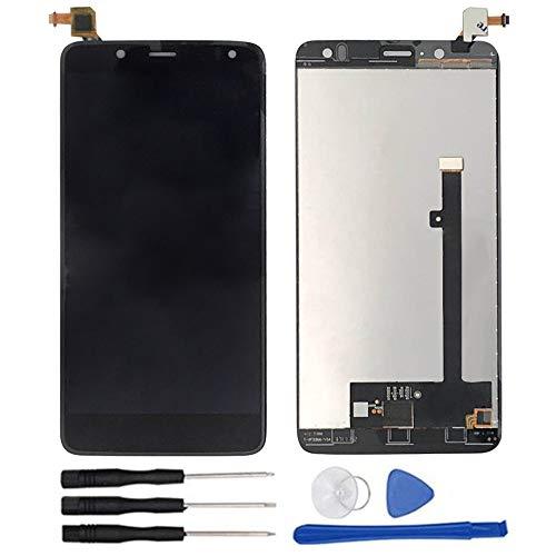soliocial Completa Pantalla LCD + Táctil Digitalizador para BQ Aquaris V Plus/VS Plus LCD Display Touch Screen Digitizer Negro