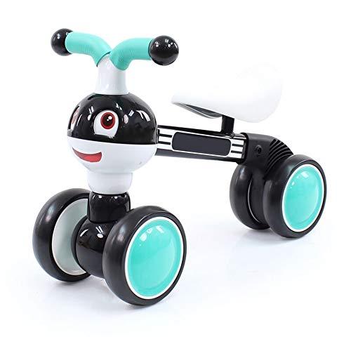 Walker Pliable bébé Draisienne Steps Portable Walker Toy avec Mute Wheels Rides for Kids pour Les Enfants Tout-Petits 1-3 Ans Extérieur Int (Color : Blue, Size : 20x40x52cm)