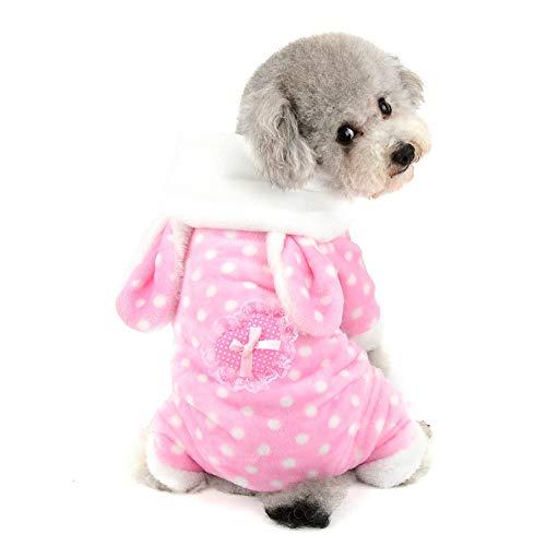 SELMAI Conejo Disfraces Halloween Ropa Mascotas Perros Pequeños Adorable Trajes para Gatos...