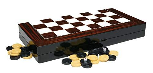 Wooden Backgammon Set Red Walnut- 19'