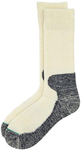 1000 Mile 2006 schweres Herren Cricket-Socken, Ecru 2XL Beige - Natur