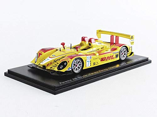 SPARK S4185 - Coche en Miniatura de colección, Color Amarillo y Rojo