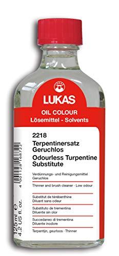LUKAS Malmittel für die Ölmalerei - Terpentinersatz, geruchlos in 125 ml