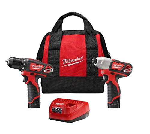 M12 12-Volt Lithium-Ion Cordless Drill Driver/Impact Driver Combo Kit (2-Tool) with Free M12 1.5Ah Battery (2-Pack)
