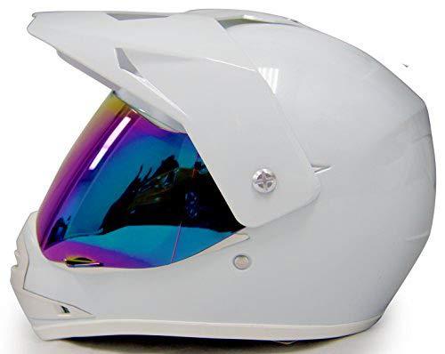 SmartDealsNow - HHH DOT Youth & Kids Helmet for Dirtbike ATV Motocross MX Offroad Motorcyle Street bike Snowmobile Helmet with VISOR