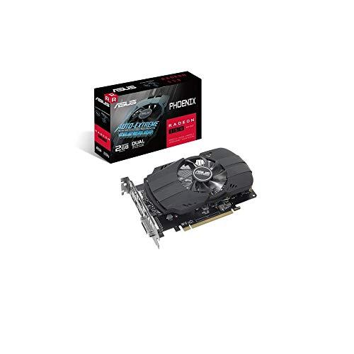 ASUS PH-550-2G Phoenix Radeon 550 GDDR5 2GB 64-Bit DVI HDMI Gaming Graphics Card