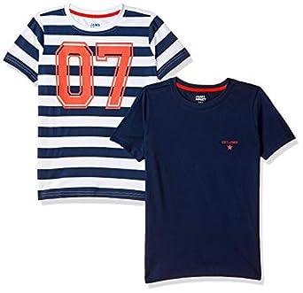 Amazon Brand - Jam & Honey Boy's Regular Fit T-Shirt