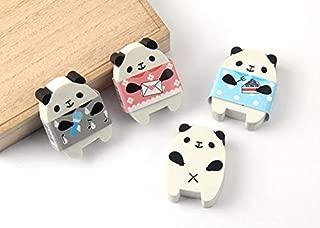 Set of 10 Cute Novelty Kawaii Cool Fun Art Animal Erasers Bulk Kids With 2 Gifts