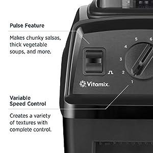 Vitamix Explorian Blender, Professional-Grade, 64 oz. Container, Black (Certified Refurbished)