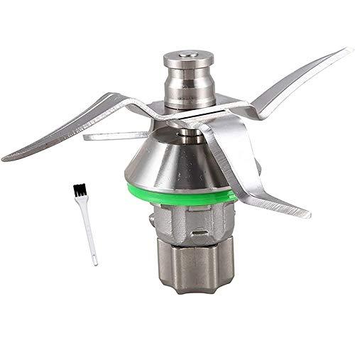 bobotron Cuchilla compatible con Vorwerk Thermomix TM5 TM 5, incluye junta, acero...