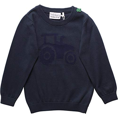 Fred's World by Green Cotton jongens Tractor Knit Baby Hemd