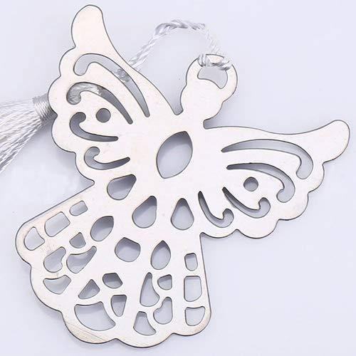 tyrrdtrd Lesezeichen mit Holy Guardian Angel Quasten – Lovely Collection Hochzeit Babyparty Taufe Geschenk