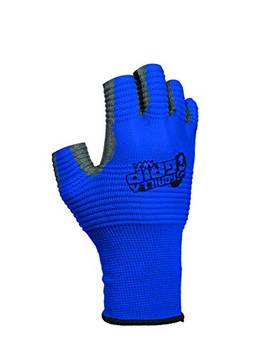 Gorilla Grip Max Fingerlose Handschuhe   Atmungsaktive Fingerlose Arbeits- und Angelhandschuhe mit Gerippter Grifffläche