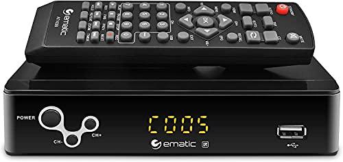 Digital Converter, Ematic Digital TV Converter Box with Recording, Playback, & Parental Controls