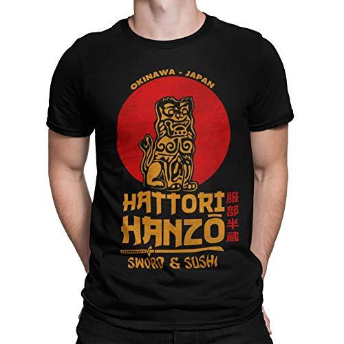 2242-Camiseta Premium, Hattori Hanzo (Melonseta) XXXL