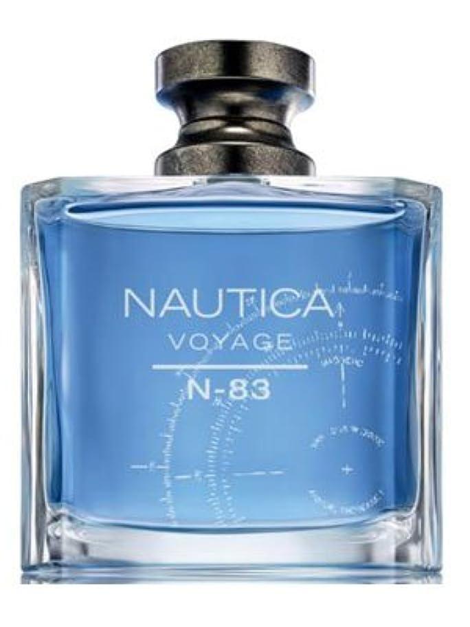 歯痛同種の順番Nautica Voyage N83 (ナウティカ ボヤージュ N83) 3.4 oz (100ml) EDT Spray for Men