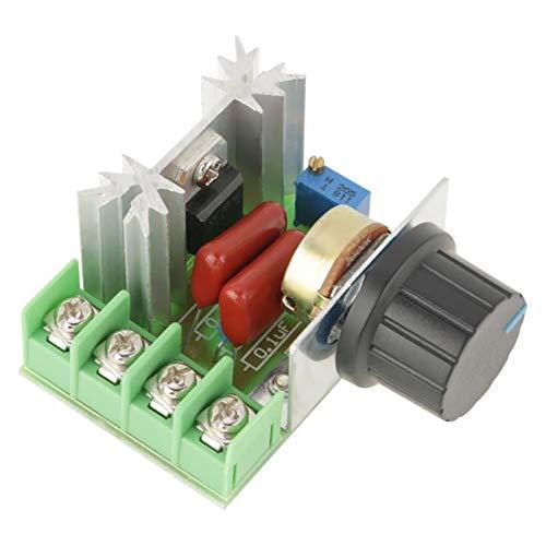L-Yune,bolt 1pc AC 50-220V regulador de Voltaje Controlador de Motor 2000W 25A LED Dimmer Motor Voltaje Controller Regulador Motor
