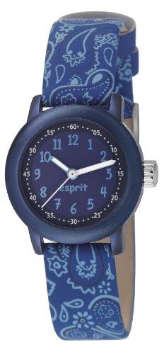 Esprit Unisex Analog Quarz Smart Watch Armbanduhr mit Resin Armband ES106414005
