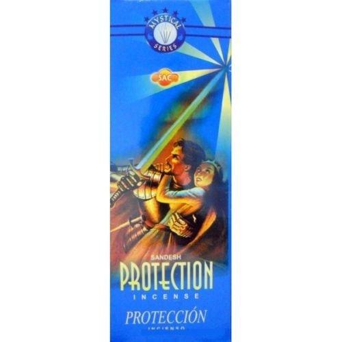 Incienso SAC Proteccion (olor a Almizcle y Lirio) - Set de 6 paquetes hexagonales