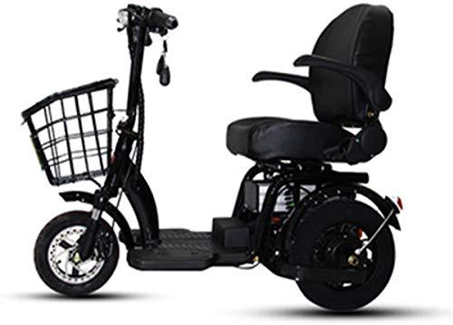 Elektrorollstuhl Elektrische Rollstühle Elektro-Rollstuhl Ältere Behinderte Mini Folding Elektro-Dreirad Startseite Scooter Um Batterie mit Lampensystem Brushless Motor, 48V15Ah, 48V8Ah, 48V12Ah Beque