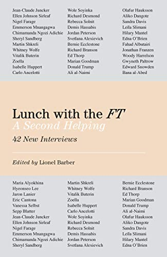 Lunch with the FT: A Second Helping (English Edition)