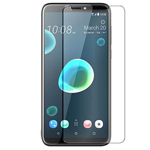 Conie 9H488 9H Panzerfolie Kompatibel mit HTC Desire 12+, Panzerglas Glasfolie 9H Anti Öl Anti Fingerprint Schutzfolie für Desire 12+ Folie HD Clear