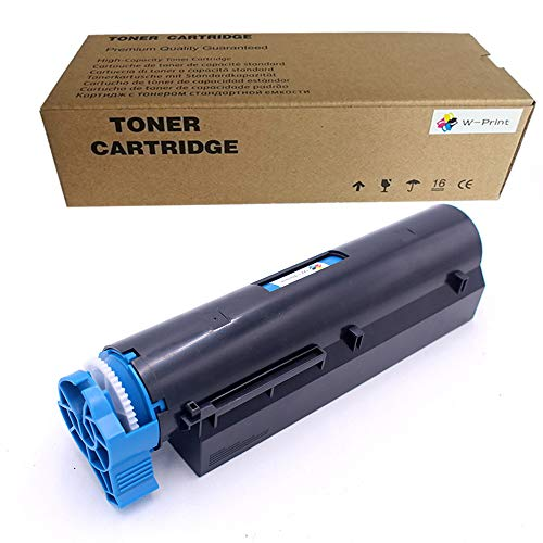 Compatible 45807101 Toner Cartridge Replacement for OKI B412 B432 B512 MB472 MB492 MB562 Toner Black 3000 Pages-1 Pack by W-Print