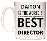 DAITON Is The World's BEST Director Taza por WeDoMugs®