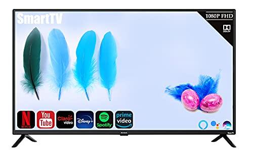 Westinghouse Televisión Smart TV de 42' 1080p Full HD Youtube Netflix PrimeVideo Compatible con Alexa y Asistente Google (Renewed)