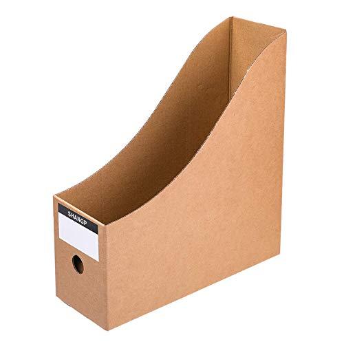 Desktop File Organizer 5 Pcs/Set Magazine File Holders Storage Box Office Supplies A4 Document Desk Tidy
