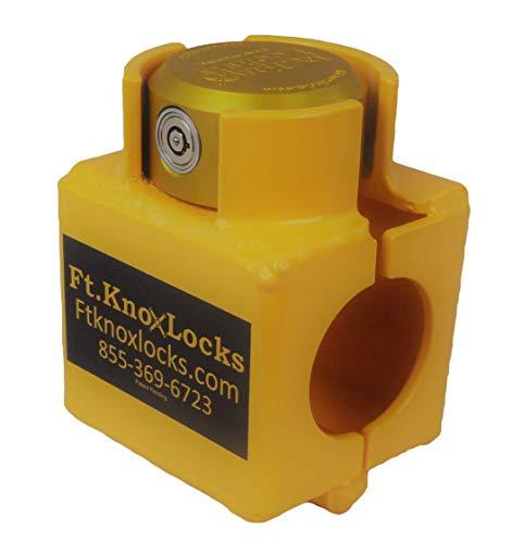 Bulldog Sliding Collar Coupler Lock Includes Cobra 7 puck lock- BOLT CUTTER PROOF!!!
