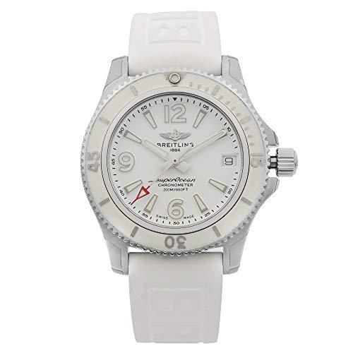 Breitling Superocean 36mm White Watch