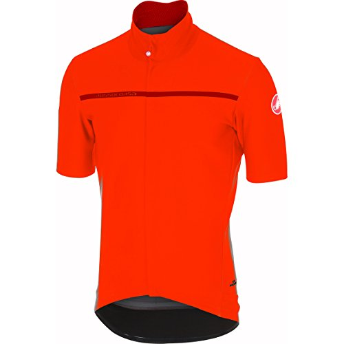 Castelli Gabba 3 Short-Sleeve Jersey - Men's Orange, M