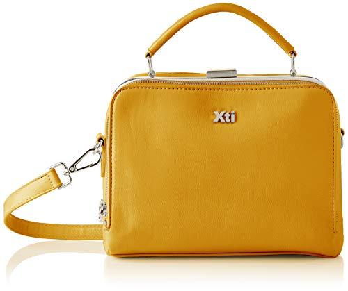 XTI 86451, Bolso Sra. Charol Amarillo para Mujer, Talla