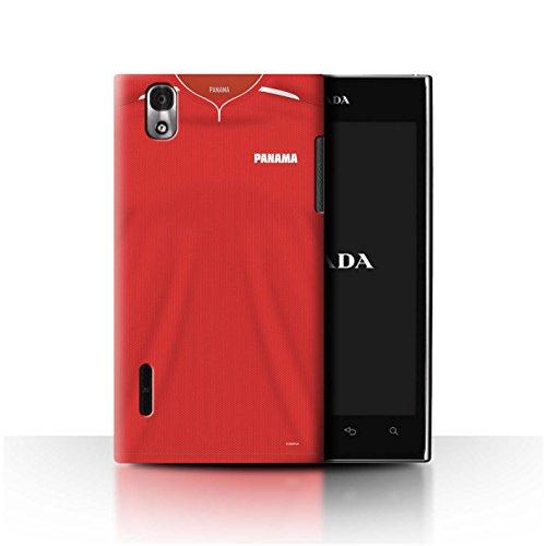 Stuff4® Phone Case/Cover/Skin/LGFL-CC/World Cup 2018 Football Shirt Collection LG Prada 3.0/K2/P940 Panama/Panamaisch.