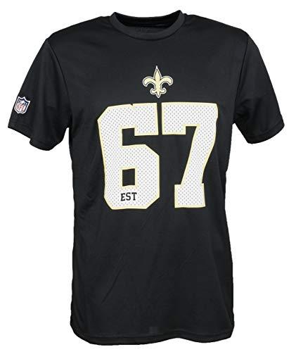New Era New Orleans Saints NFL T Shirt New Era American Football Schwarz - 4XL