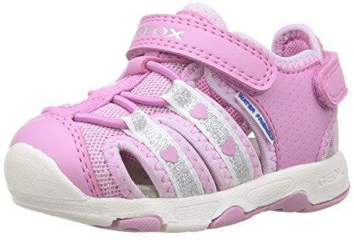 Geox B Sandal Multy Girl Bimba 0-24, (Dk Pink C8006), 25 EU