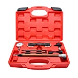 Riloer Engine Timing Tool Kit Camshaft Timing Tool Kit Camshaft Phaser Timing Chain Tools Kit Engine Timing Belt Tools