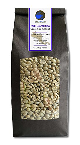 Rohkaffee - Grüner Hochland Kaffee Guatemala Antigua (grüne Kaffeebohnen 1000g)