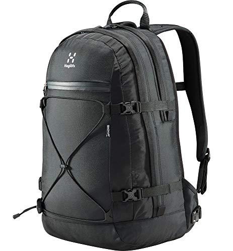 Haglöfs Wanderrucksack Haglöfs Unisex Laptop Rucksack Backup 17 Inch Smarte Details True Black 1-Size 1-Size